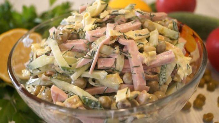 и фото простые рецепты салаты самые