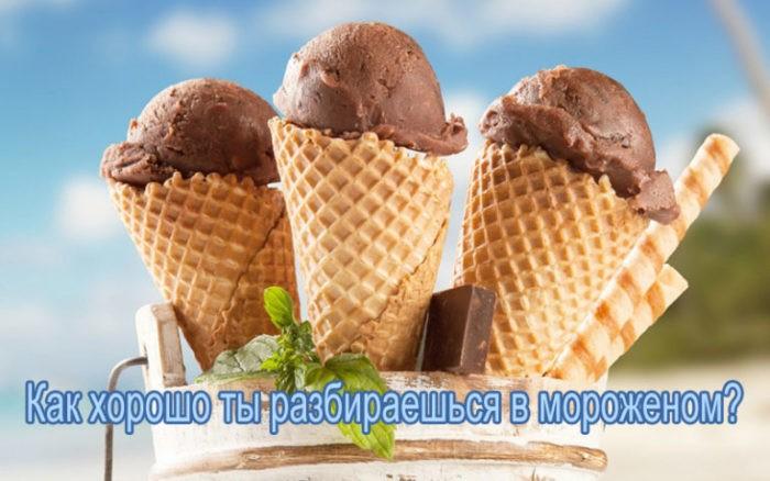 Тест: Как хорошо ты разбираешься в мороженом?