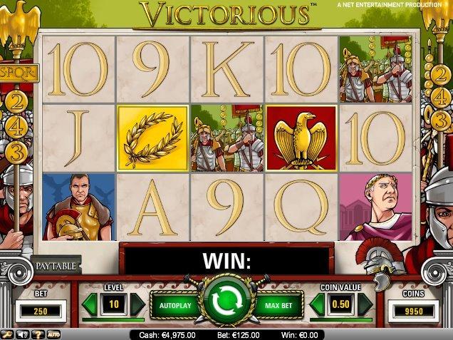 Обзор бесплатного игрового автомата «Victorious» в онлайн-казино Вулкан